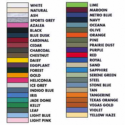 Gildan color chart specialty cap