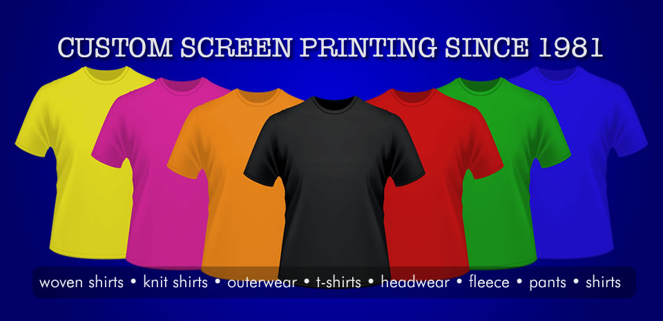 Custom Screen Printing - Granbury Texas