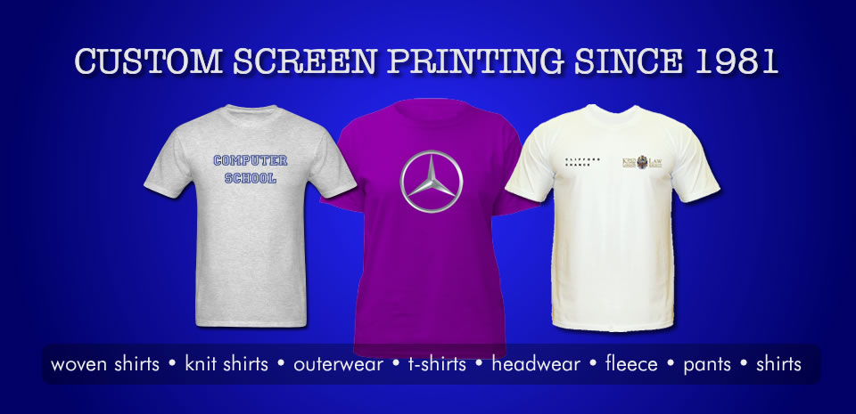 Screen Printed T-Shirts